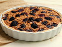 Oatmeal blackberry breakfast pie