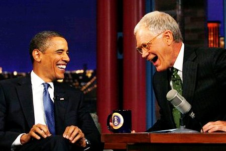 President Obama's a hit on Letterman