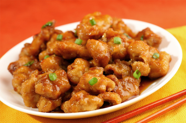 Chinese orange chicken recipes