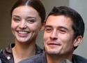 Orlando Bloom peed into bottle during son's birth?