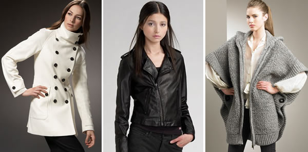 Fashionable fall coats & jackets