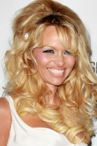 Pamela Anderson getting ready to boogie on DWTS