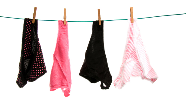 Panties on Clothesline