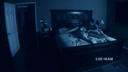 Paranormal Activity stars Katie Featherston and Micah Sloat