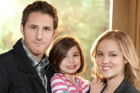 Erika Christienson and family on Parenthood