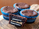 Peanut butter Oreo stuffed brownies