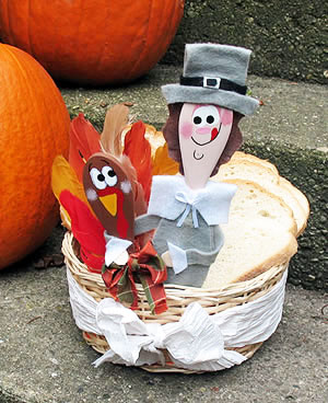 hungry pilgrim bread basket