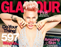 Pink tells Glamour: My daughter Willow cusses!