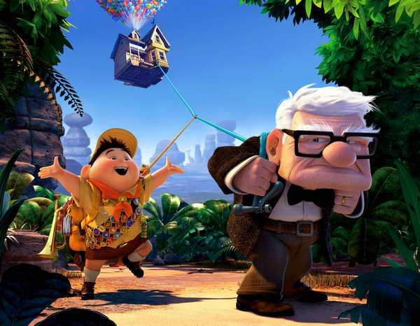 Up, the latest marvel from Pixar and Disney