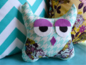 How to make plush owls 