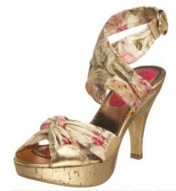 Poetic Licence floral sandal