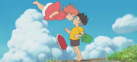 Ponyo takes family film and animation in general to a whole new level