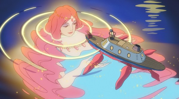 Cate Blanchett's voice delivers Ponyo's soothing moments