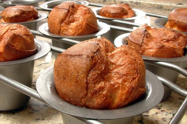 Popover in Baking Tin