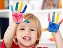 Plan a messy art day for your preschooler