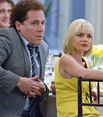 Pressly and Jon Favreau in I Love You, Man