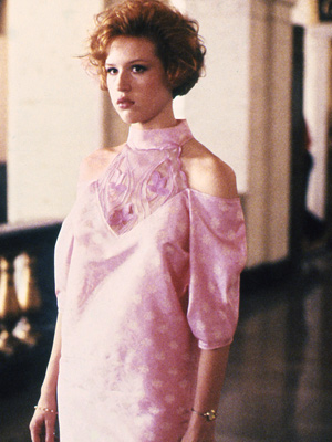 Molly Ringwald was Pretty in Pink thanks to John Hughes
