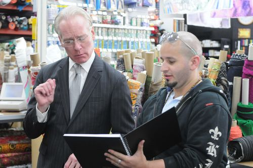 Tim Gunn is working it, is this challenger? Tune in tonight for the premiere!