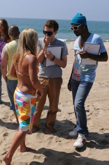 Project Runway hits the beach