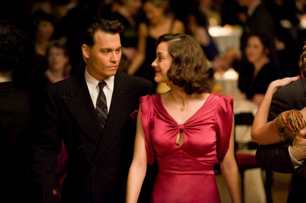 johnny depp public enemies. Johnny Depp and Marion