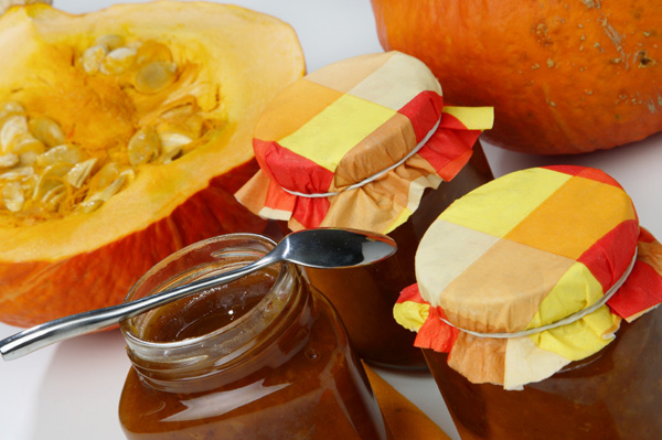 Pumpkin Butter in Jars