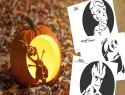 Pumpkin carving templates from Finding Dory and other kid faves
