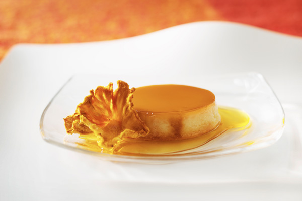 Pumpkin Flan