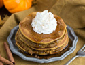 Pumpkin spice pancakes are the best breakfast for fall