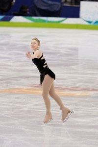 Rachel Flatt practicing