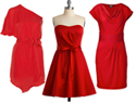 5 Little red dresses for Valentine's Day