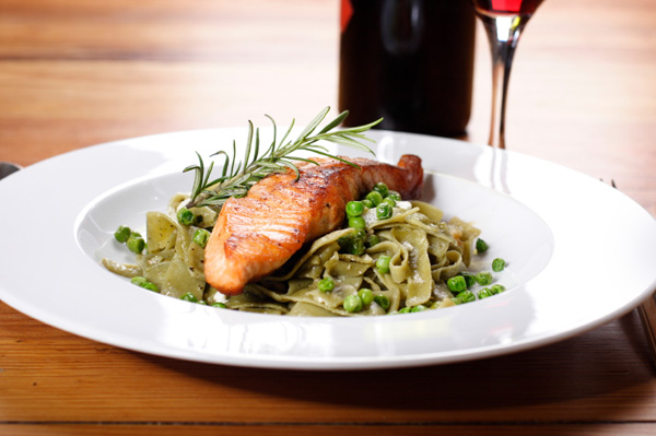 Red wine salmon