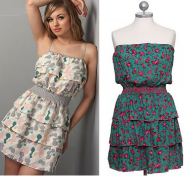 Flirty in floral