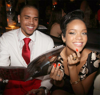 Rihanna and Chris Brown in happier days