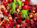 Roasted ginger beets