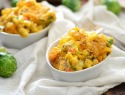 Roasted veggie mac 'n' cheese is a luscious, easy weeknight meal for fall