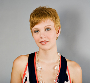 Pixie cut for round face shapes