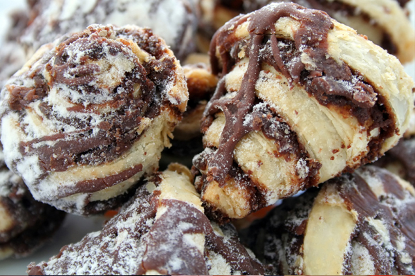 Chocolate Chip Rugelach 