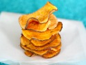 Salt and vinegar sweet potato chips
