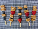 Sandwich on a stick: 3 easy, packable kabobs