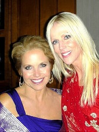 Katie Couric and the crasher