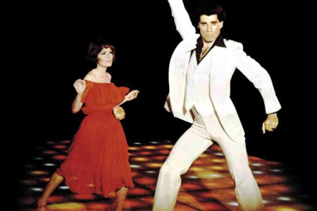 John Travolta in the 1970s classic Saturday Night Fever