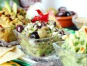 Add Sriracha, pesto or olive tapenade to your guacamole for a special treat