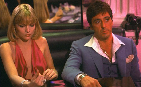 Michelle Pfeiffer And al Pacino Scarface al Pacino 39 s Scarface Had a