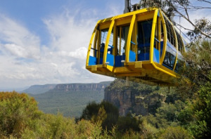 Scenic Skyway - Blue Mountains Australia