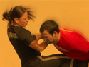 Self-defense for women: Krav Maga workout