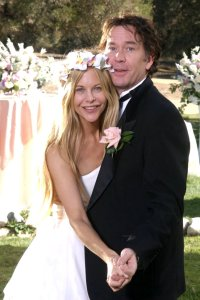 Meg Ryan and Tim Hutton