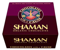 Shaman Organic Chocolate