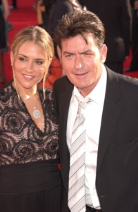 Brooke Mueller and Charlie Sheen in happier times