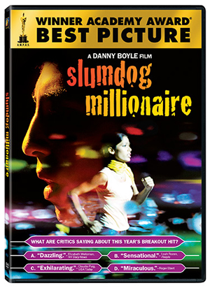 2008's best picture Slumdog Millionaire is now on DVD