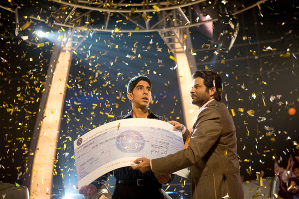 The winner takes it all in Slumdog Millionaire